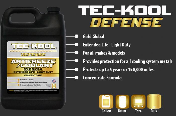 Tec-Kool Defense Gold Concentrate