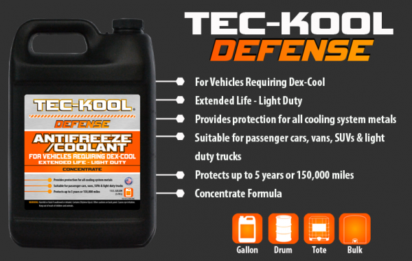 Tec-Kool Defense Orange Concentrate