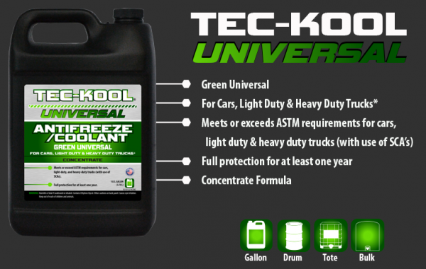 Tec-Kool Universal Green Concentrate
